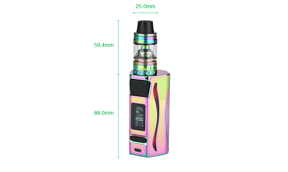 234W IJOY GENIE PD270 with Captain S TC Kit with 20700 Battery - 6000mAh