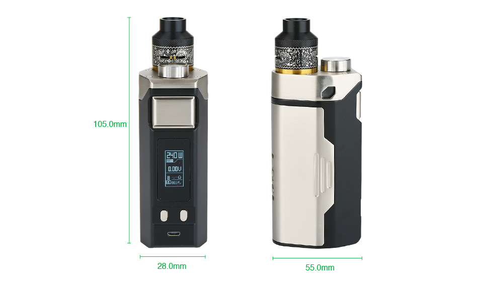 240W IJOY RDTA BOX Triple TC Kit