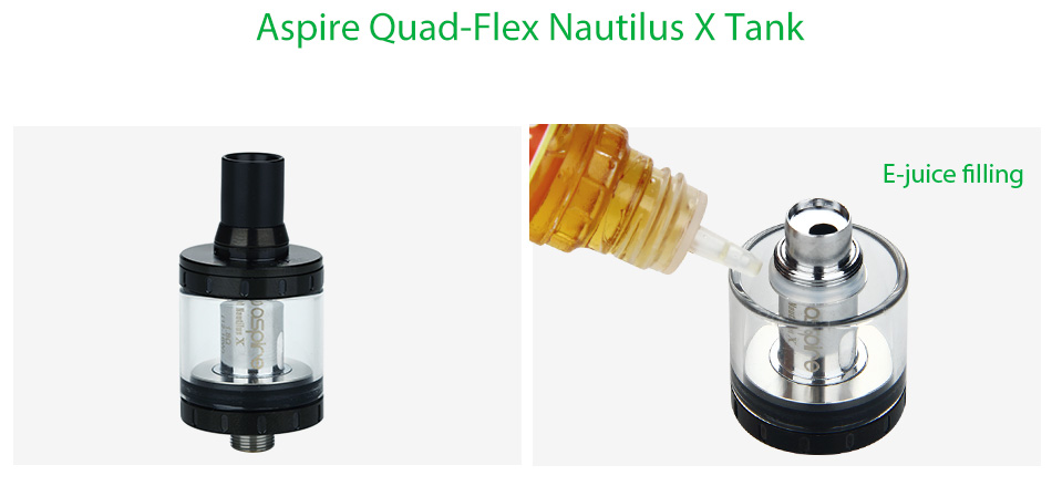 Aspire Quad-Flex Survival Kit - Black