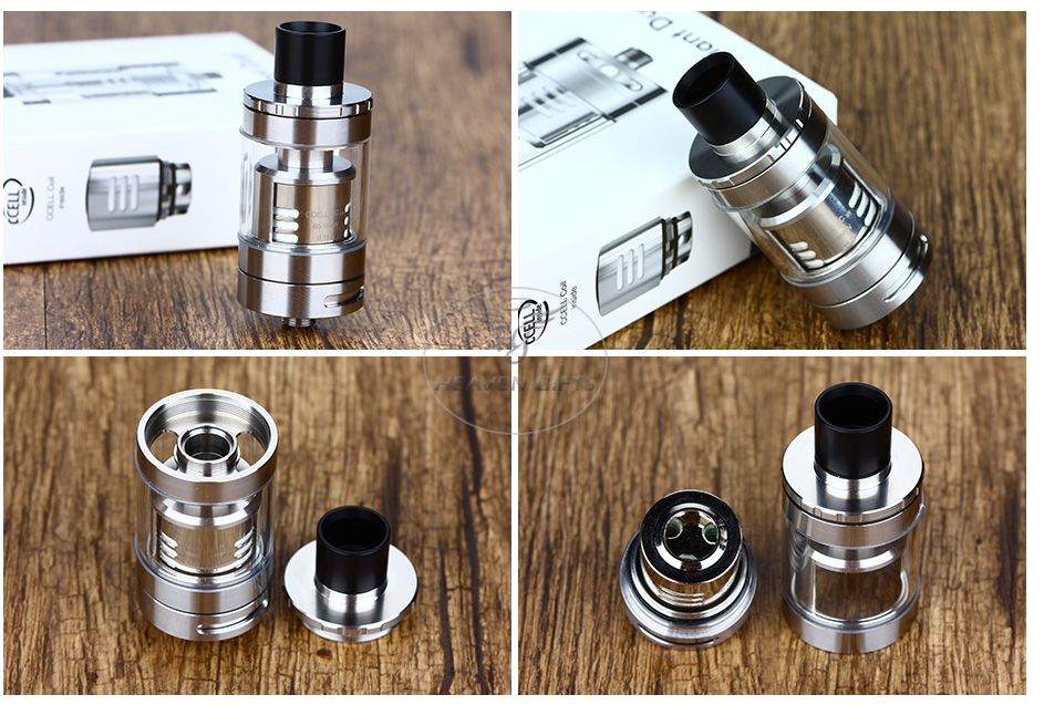Vaporesso Giant Dual Tank with RTA Deck - 4ml, Silver