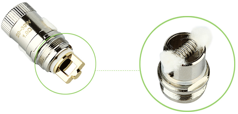 Eleaf Melo 2 ECR Atomizer Head - 1ohm