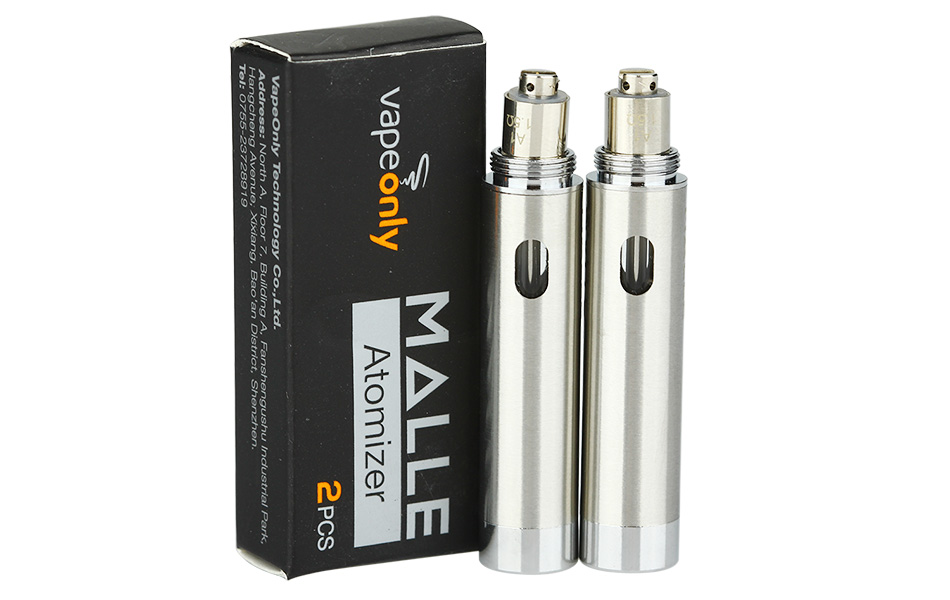 2 шт. VapeOnly Malle Atomizer - 1 мл
