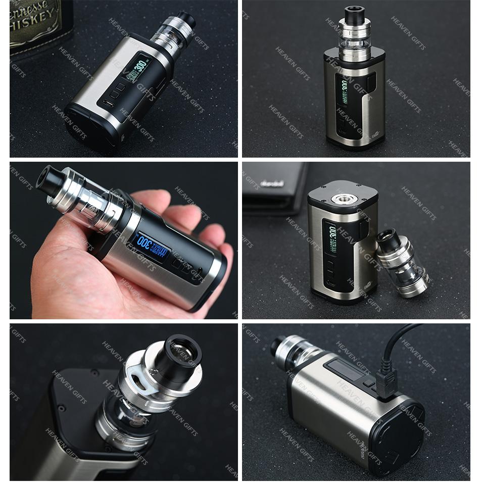 300W Eleaf iStick Tria Kit with ELLO S