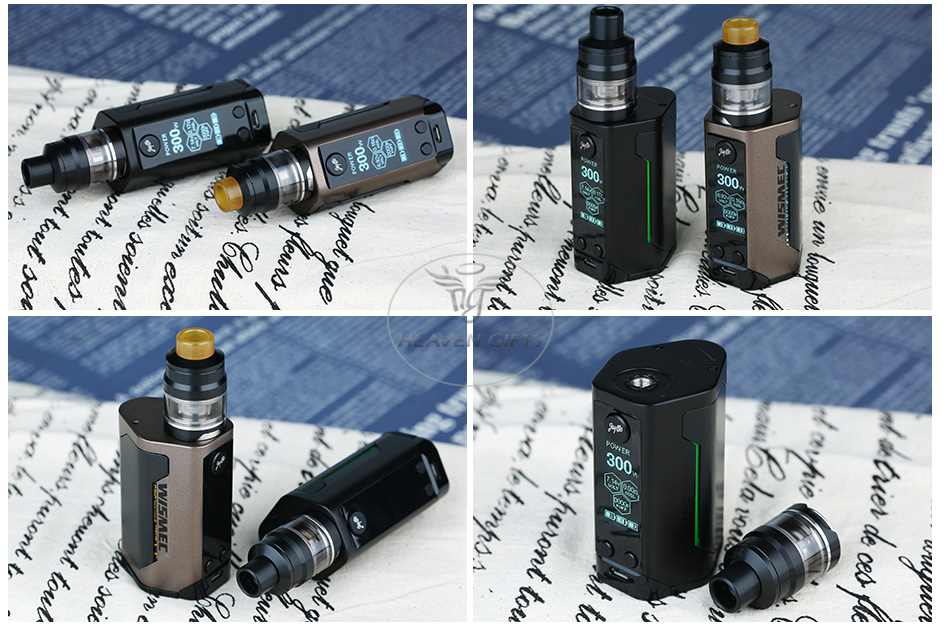 300W WISMEC Reuleaux RX GEN3 with Gnome TC Kit W/O Battery