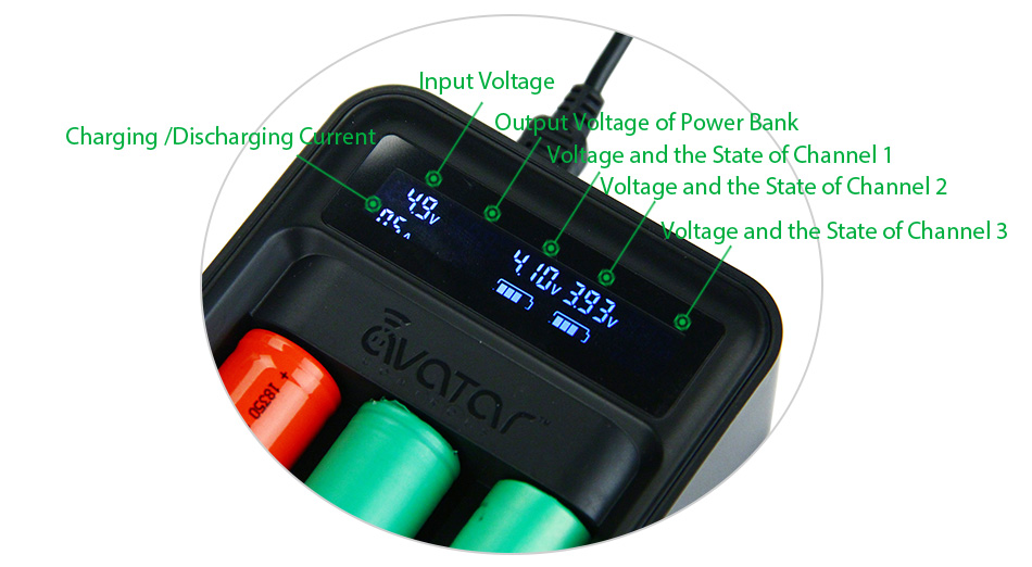 Avatar Intelligent Battery Digicharger Kit