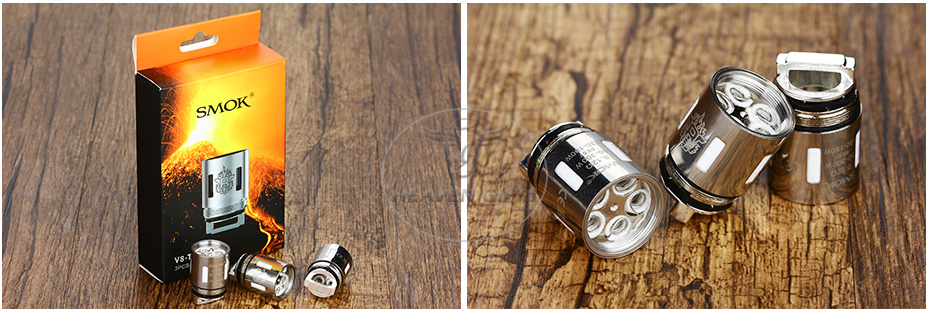 3pcs SMOK TFV8 V8-T10 Decuple Core