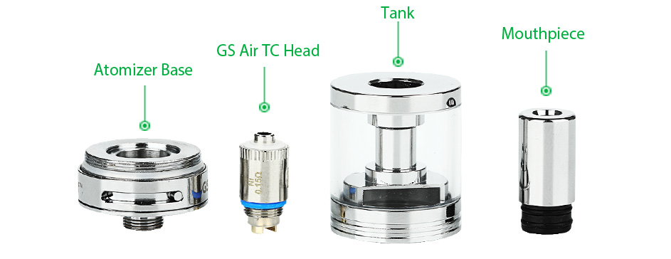 40W Eleaf iStick TC Kit with GS TC Atomizer - 2600mAh