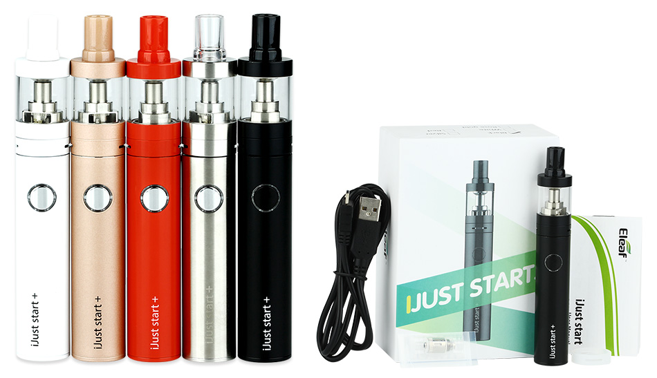 Eleaf iJust Start Plus Kit with 2.5ml Atomizer - 1600mAh