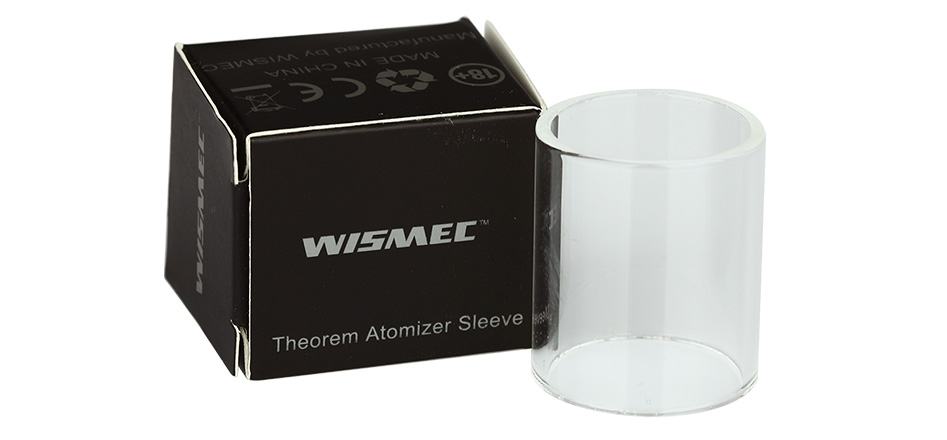 WISMEC Theorem Atomizer Sleeve - Pyrex Glass