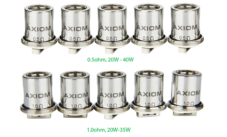 5pcs Innokin Axiom Dual Horizontal Coil