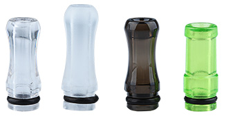 5x Transparent Drip Tips for e-Cigarette