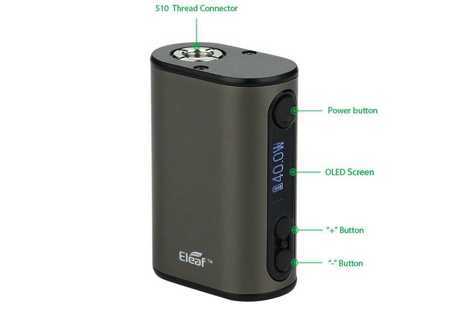 40W Eleaf iStick Power Nano Battery - 1100mAh