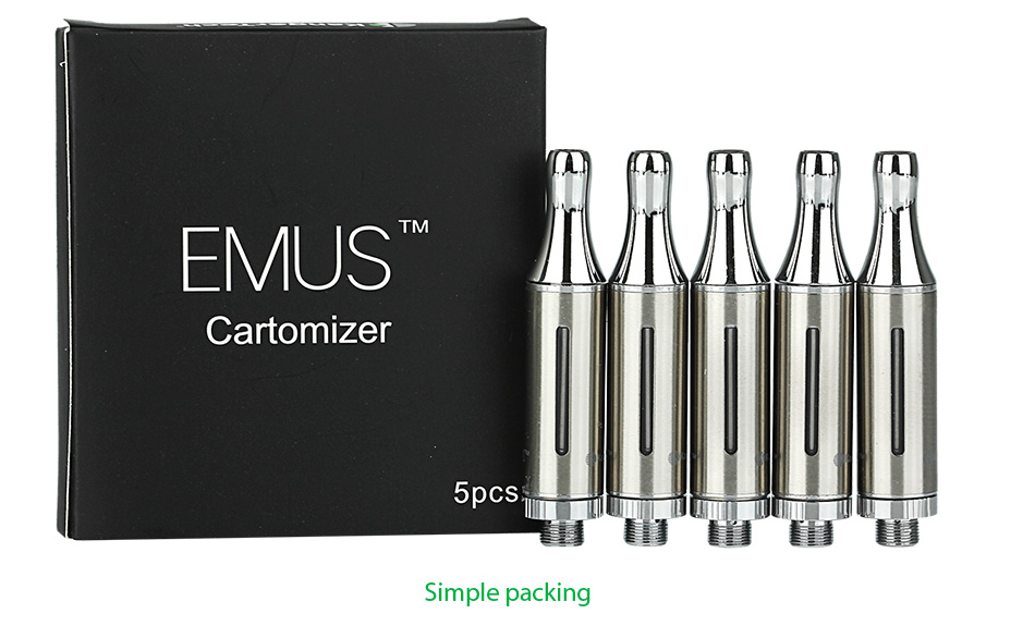 5pcs KangerTech EMUS BCC Cartomizer - 1.2ml