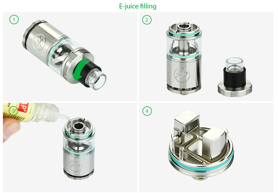 WISMEC Kit Cylin RTA Atomizer - 3.5ml