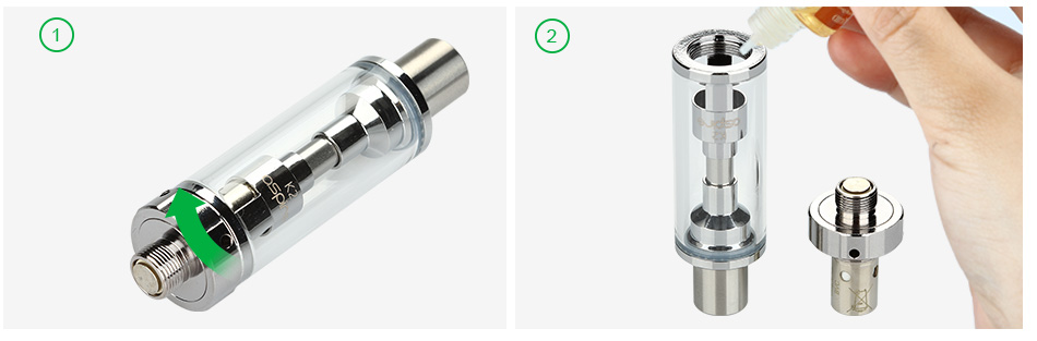 Aspire K2 BVC Tank - 1.8ml, Silver