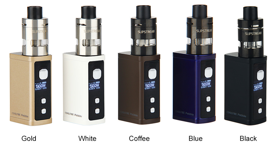 50W Innokin Cool Fire Pebble Full Kit Dengan SlipStream Atomizer - 1300mAh