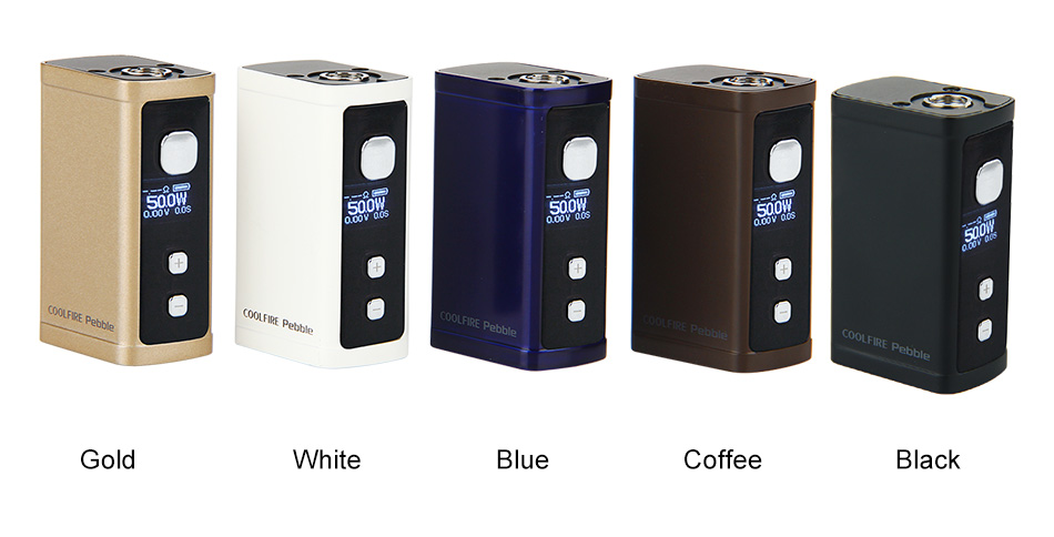 50W Innokin Cool Fire Pebble VW Box MOD - 1300mAh