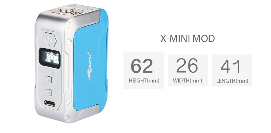 50W iKarno X-MINI TC Box MOD - 1500mAh