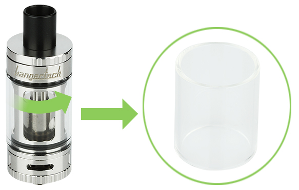 Kangertech Toptank Mini Pyrex Glass Replacement Tube