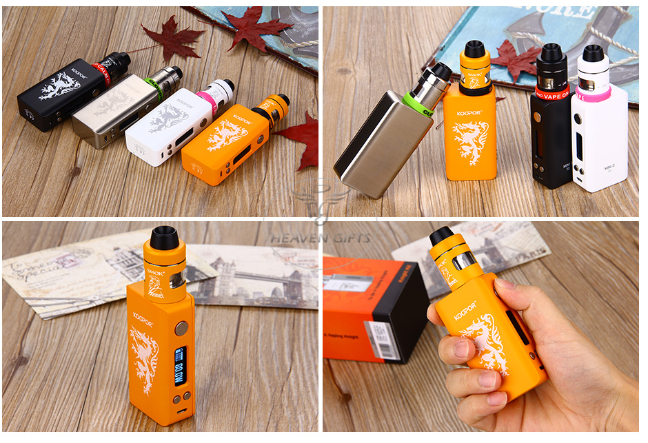 80W SMOK KOOPOR Knight TC Full Kit W/O Battery