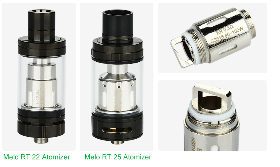 5pcs Eleaf ER Head for Melo RT 22