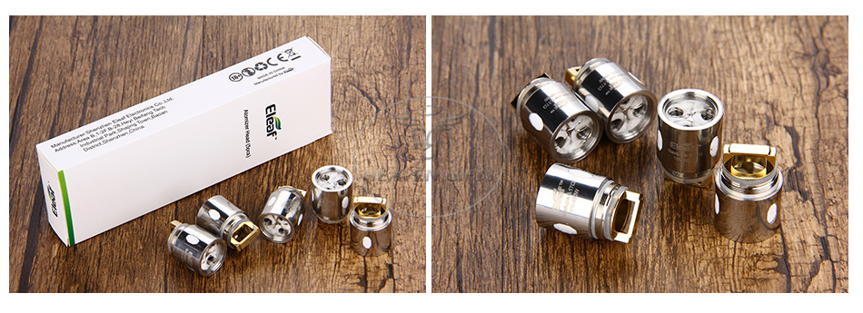 5шт Eleaf ES Sextuple 0.17ohm Head для Melo 300.psd