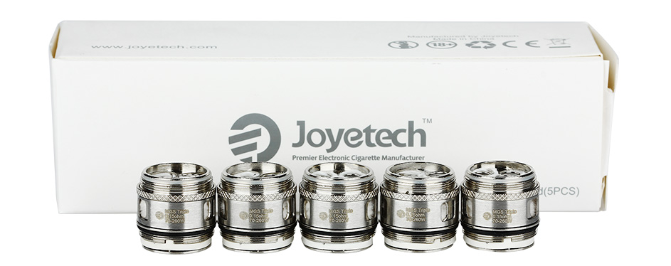 5pcs Joyetech MGS Triple Head untuk ORNATE