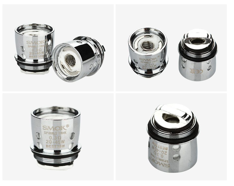 5pcs SMOK Spirals Replacement Coil