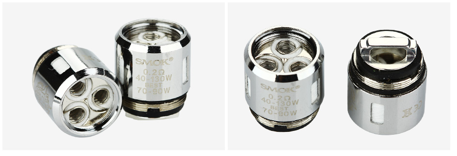 5pcs SMOK V8 Baby-T6 Sextuple Core