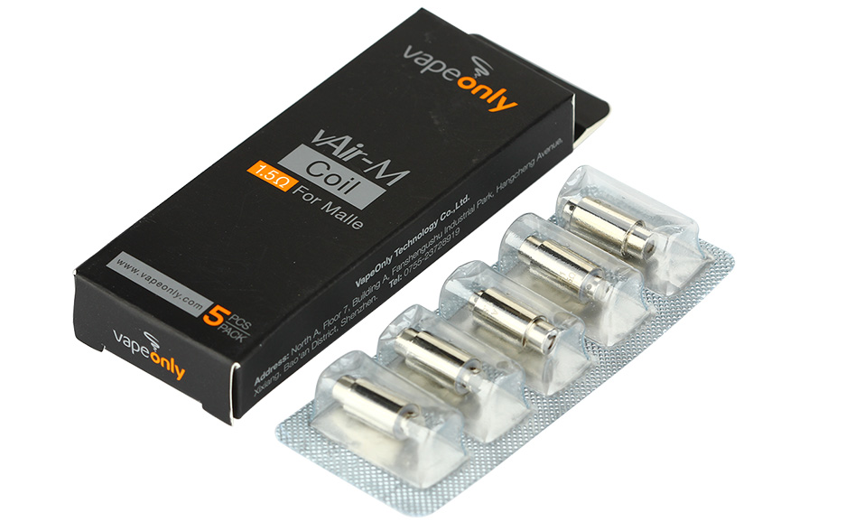 5pcs VapeOnly vAir-M Coil for Malle