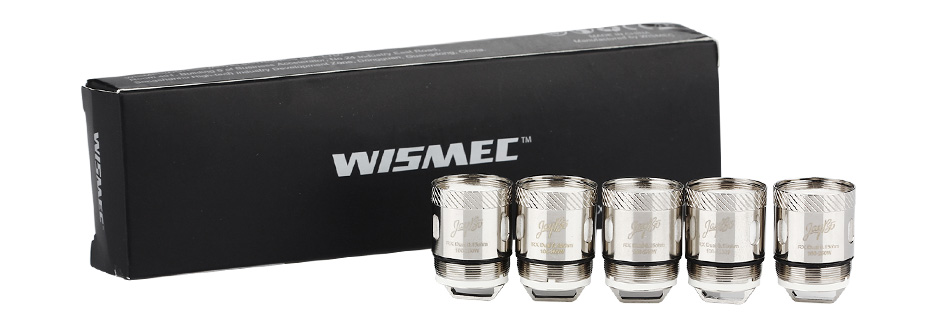 5pcs WISMEC RX Dual Atomizer Head for Reux