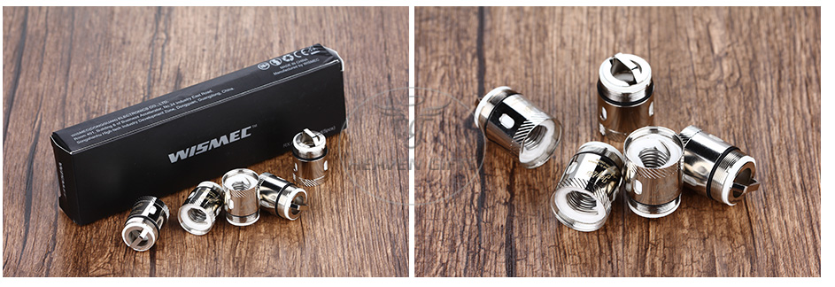 5pcs WISMEC RX Dual Atomizer Head для Reux