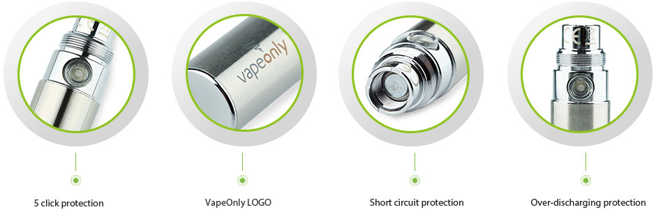 VapeOnly EGOA Battery Features
