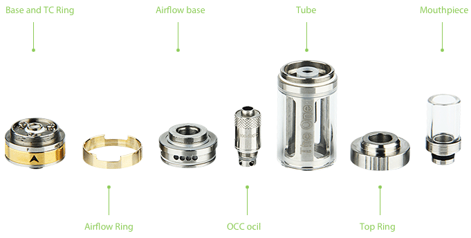 CARRYS The One TC Tank - 6ml