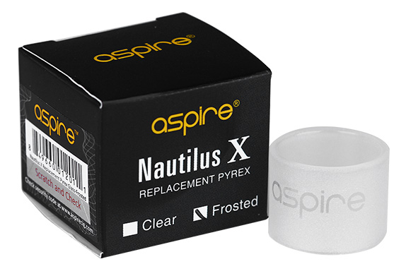 Aspire Nautilus X Replacement Glass Tube - Frosted