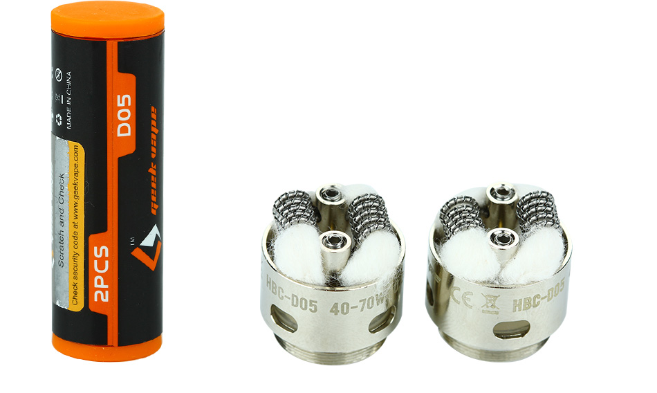 2pcs GeekVape Eagle Replacement HBC-D05 Tiger