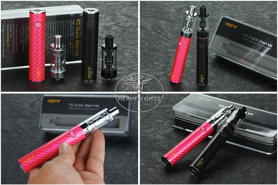 Aspire K3 Quick Start Kit - 1200mAh