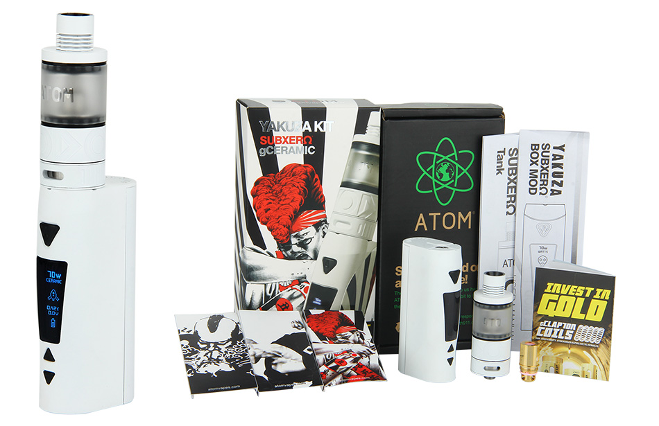 ATOM Yakuza 70W TC Kit W/O Battery