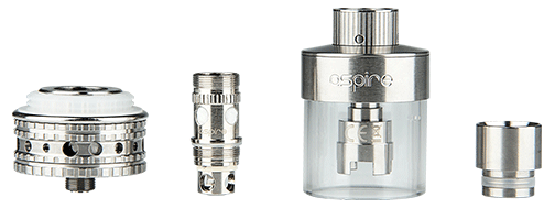 Aspire Atlantis Mega Tank Kit with Sub Ohm Coil - 5ml