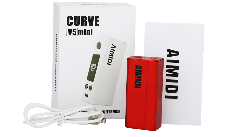 75W AIMIDI Curve V5mini TC MOD W/O Battery