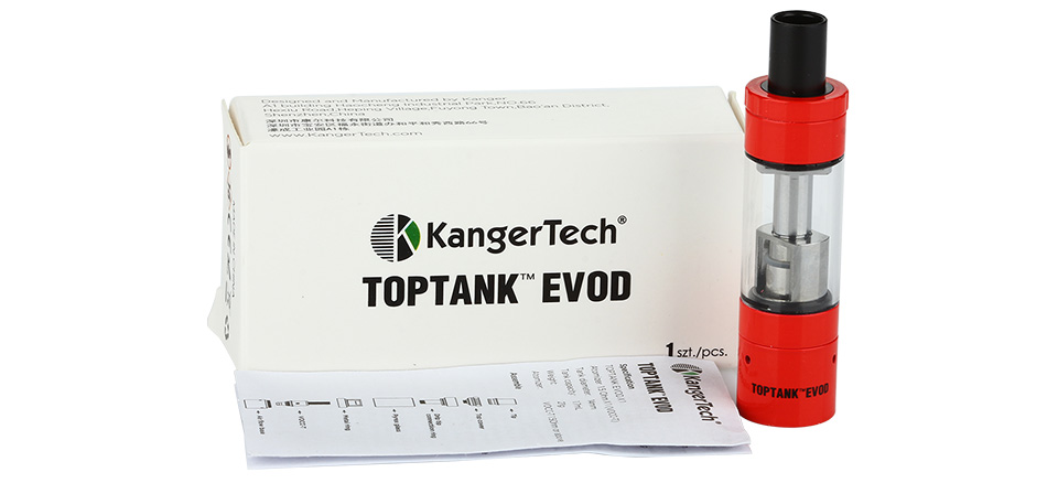 Kangertech TOPTANK EVOD Clearomizer - 1.7ml