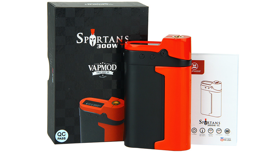 300W VAPMOD Spartans TC MOD W / O Battery