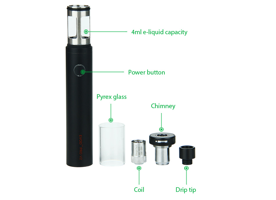 Kangertech Evod Pro V2 Instructions
