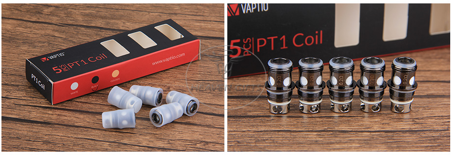 5pcs Vaptio PT1 Replacement Coil