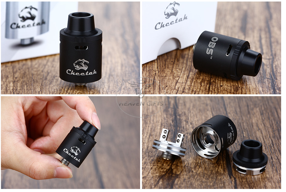 OBS Cheetah RDA Tank - Black