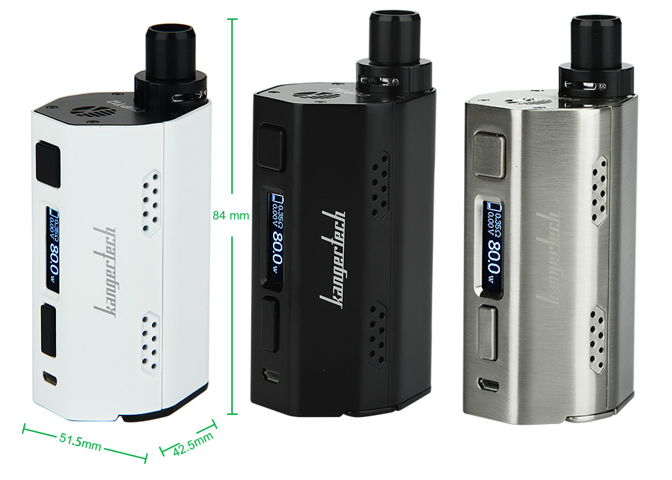 80W Kangertech CUPTI 2 TC Starter Kit W/O Battery