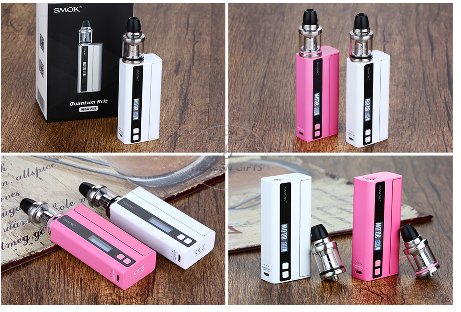 80W SMOK Quantum Brit Mini TC Start Kit W/O Battery