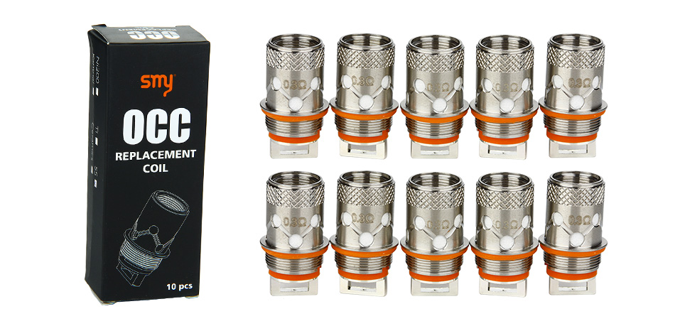 10pcs SMY Replacement OCC Coil untuk Star Atomizer
