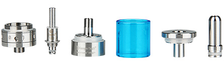 KangerTech Aerotank Mega Airflow Control Pyrex Glass Clearomizer with Upgraded Dual Coil- 3.8ml