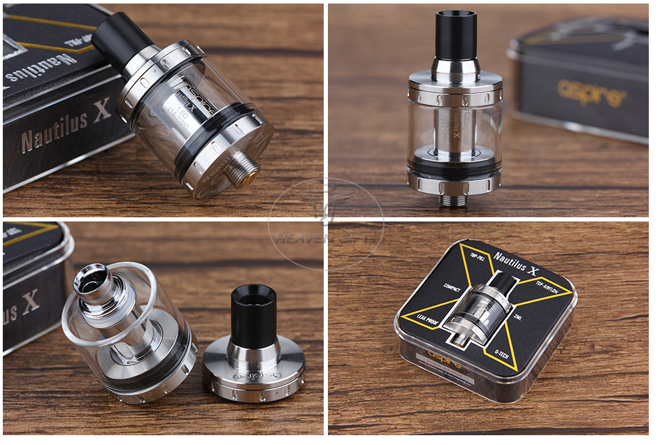Aspire Nautilus X Cartomizer - 2ml, Silver